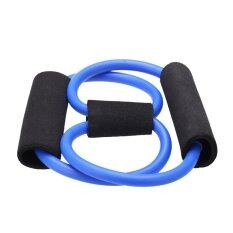 โปรโมชั่น Resistance Bands Stretch Tube Fitness Workout Exercise For Yoga Training 8 Type Blue Unbranded Generic ใหม่ล่าสุด
