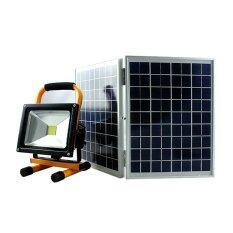 โปรโมชั่น สปอร์ตไลท์โซล่าเซลล์ 20 Watt Polycrystalline Solar Panel สำหรับออกเเคมป์ Unbranded Generic ใหม่ล่าสุด