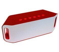 ราคา Speaker Bluetooth Super Bass ลำโพงบลูทูธ รุ่น S204 สีแดง ไทย