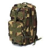 ราคา Sport กระเป๋าเป้เดินป่า เป้สะพายหลัง 3P Backpack Bag 25L Digital Camouflage ลายพราง เขียวทหาร