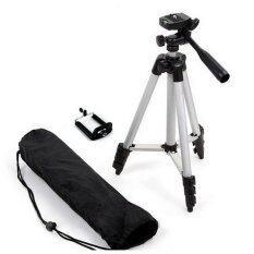 ราคา Tf Tripod ขาตั้งกล้อง 3 ขา รุ่น 3110 Black ฟรี หัวต่อสำหรับมือถือ