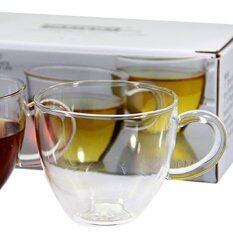 ราคา ถ้วยแก้วชาใส 100Ml 2 ใบ Unbranded Generic กรุงเทพมหานคร