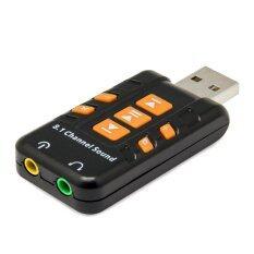 ขาย Usb Sound Adapter 8 1 Channel Black ไทย