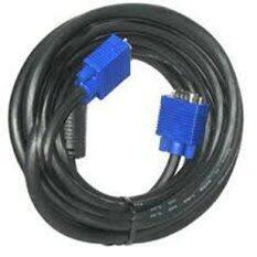 ซื้อ สาย Vga M M 3 6 ความยาว 15 เมตร หัวสีน้ำเงิน สายสีดำ ออนไลน์ ถูก
