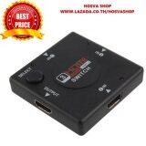 ราคา Oemgenuine 3Port 1080P Hdmi Switch Switcher Splitter Video Selector Hub Box Hdtv Ps3 Dvd Black ปทุมธานี