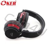 ราคา Oker Headphones Bluetooth Sm 896 Black Red ที่สุด