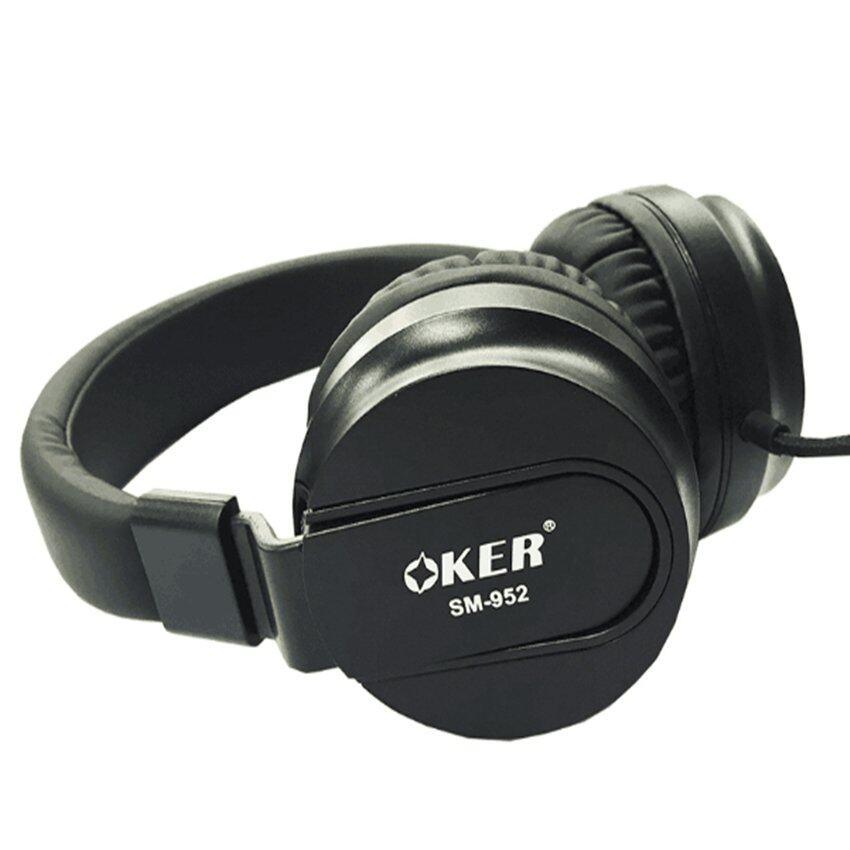 ใครเคยใช้ OKER หูฟังแบบครอบหู สำหรับมือถือ/คอม รุ่น SM-952 (Black) รุ่นนี้ดีไหม