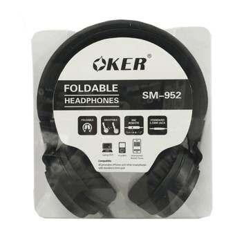 OKER หูฟังแบบครอบหู สำหรับมือถือ/คอม รุ่น SM-952 (Black)-