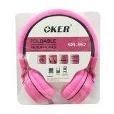 ราคา Oker หูฟังแบบครอบหู สำหรับมือถือ คอม รุ่น Sm 952 สีชมพู ใหม่ล่าสุด