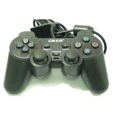 OKER Joy Playstation 2  รุ่น 709  (สีดำ)