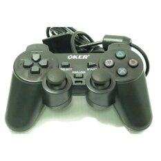 OKER Joy Playstation 2 PSII-709 PS 2 (Black)