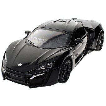 โมเดลรถยนต์เหล็ก Lykan-Hypersport - Black