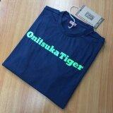 ขาย Onitsuka Tiger เสื้อยืดคอกลม ของแท้ T Shirt สีน้ำเงิน กรม Classic Onitsuka Tiger ใน กรุงเทพมหานคร