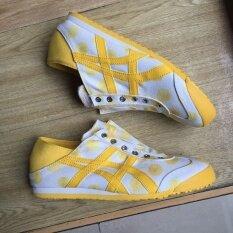 ราคา Onitsuka Tiger รองเท้าผ้าใบ รุ่น Mexico 66 Paraty Yellow White ใหม่