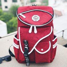 ราคา Open กระเป๋าเป้ กระเป๋าเดินทาง Backpack กระเป๋าเป้สะพายหลัง กระเป๋าแฟชั่น กระเป๋าแฟชั่นสไตล์วัยรุ่น สีแดง 046 Open ออนไลน์