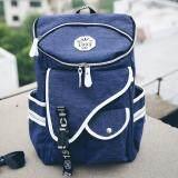ซื้อ Open กระเป๋าเป้ กระเป๋าเดินทาง Backpack กระเป๋าเป้สะพายหลัง กระเป๋าแฟชั่น กระเป๋าแฟชั่นสไตล์วัยรุ่น สีนำ้เงิน 046 Open ถูก