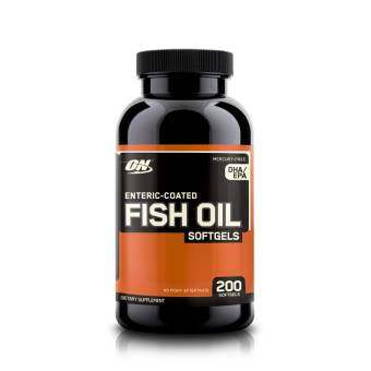 Optimum ENTERIC-COATED FISH OIL SOFTGELS 200 SOFTGELS
