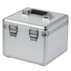 ORICO กล่องเก็บฮาร์ดดิสก์ Orico BSC35-10 พร้อมกุญแจล็อก - สีเงิน