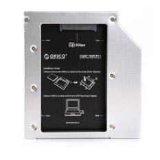 ORICO L95SS Laptop 2nd SATA Hard Drive or SSD Candy Tray for 9.5m (Silver)