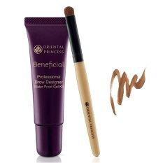 Oriental Princess เจลเขียนคิ้ว Beneficial Professional Brow Designer Waterproof Gel Kit No 02 Brown Cocoa 8 G ใหม่ล่าสุด