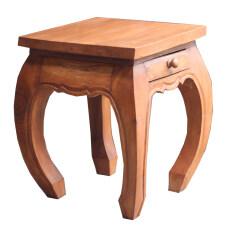 ราคา โต๊ะวางของ มีลิ้นชัก สีธรรมชาติ