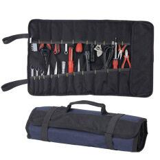 ซื้อ Oxford Canvas Chisel Roll Rolling Repairingtool Bag With Carrying Handles Unbranded Generic ออนไลน์