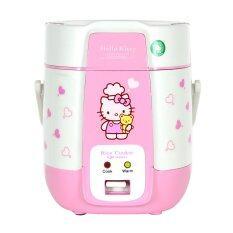 OXYGEN หม้อหุงข้าวไฟฟ้ามินิ Hello Kitty 0.4 ลิตร รุ่น RC-040
