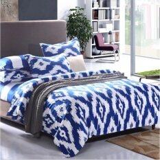โปรโมชั่น P Cotton ชุดผ้าปูที่นอน พร้อมผ้านวม ขนาด 6 ฟุต 6ชิ้น Cotton246 ใน ไทย