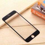 ทบทวน ที่สุด P One ฟิล์มกระจกนิรภัย Iphone 6 6S เต็มจอ ขอบโค้ง ลายเคฟล่า สีดำ