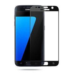 ราคา P One ฟิล์มกระจกนิรภัย Samsung Galaxy S7 เต็มจอ ขอบโค้ง สีดำ ใหม่