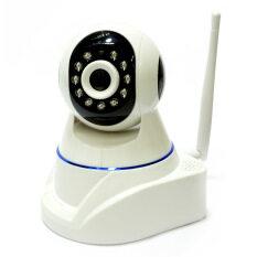 P2P กล้องวงจรปิด ไร้สาย ip camera HD 720  รุ่น K6040 (สีขาว)