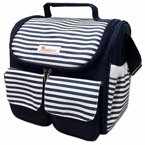 PalmandPondกระเป๋าคุณแม่ลูกอ่อน (กันน้ำและเก็บอุณหภูมิ) สีกรม