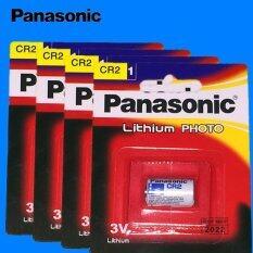 ทบทวน Panasonic ถ่านกล้องถ่ายรูป Cr2 Lithium 3V สีขาว 4 ก้อน