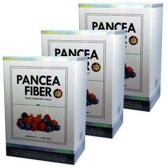 Pancea Fiber แพนเซีย ไฟเบอร์ ดีท็อกลำไส้ล้างสารพิษเพื่อให้ลำไส้เราทำงานได้ปกติ  บรรจุ 7 ซอง (3 กล่อง-