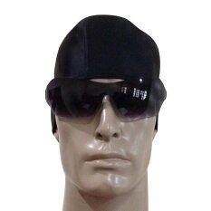 ขาย P P Sports หมวกว่ายน้ำ รุ่น Pc 1L0 สีดำพื้น ฟรีไซส์ P P Sports ถูก
