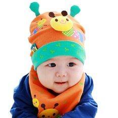 ราคา Parbuf เสื้อผ้าเด็ก Ice Cotton 100 ชุดแฟนซีเด็ก ผ้ากันเปื้อน หมวกเด็ก สีส้ม Baby 007 ใหม่