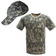 ราคา Parbuf เสื้อทหาร หมวกทหาร หมวกแก้ป คาโม คุณภาพสูง Set 1 Parbuf ออนไลน์