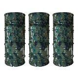 ราคา Parbuf ผ้าบัฟ ป้องกัน Uv Set Camo 3 ผืน Set 1 ลายทหาร สีเขียว ราคาถูกที่สุด