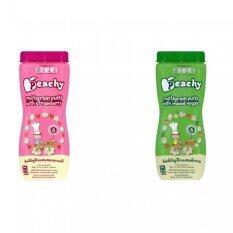 ขาย Peachy ขนมเด็ก พัพฟ์ธัญพืชรสสตรอเบอร์รี่ 6 กระปุก พัพฟ์ธัญพืชรสผักรวม 6 กระปุก Peachy ใน กรุงเทพมหานคร