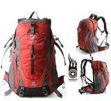 ราคา Pentagram กระเป๋าเป้เดินป่า รุ่น Pn002 ขนาด 50L สีแดง ใหม่ล่าสุด