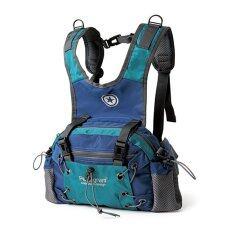 ซื้อ Pentagram กระเป๋ากีฬา กันน้ำ กระเป๋าคาดเอว สะพายหลัง ง 6L สีเขียว น้ำเงิน ถูก