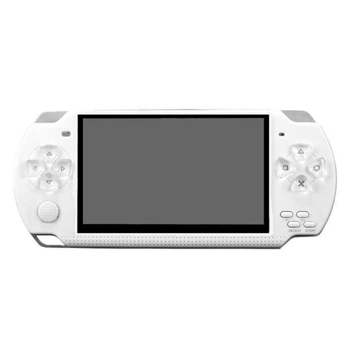 ราคา Perlinta PLT-158 8G Built in Memory 4 3 Inch TFT Screen Vedio Game  Console Music Player (White) - Alex All Electronics