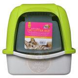 ซื้อ Pet8 Cat Litter House Sport Greenห้องน้ำแมว ขนาด 38 49 42 ซม สีเขียว1 ชุด