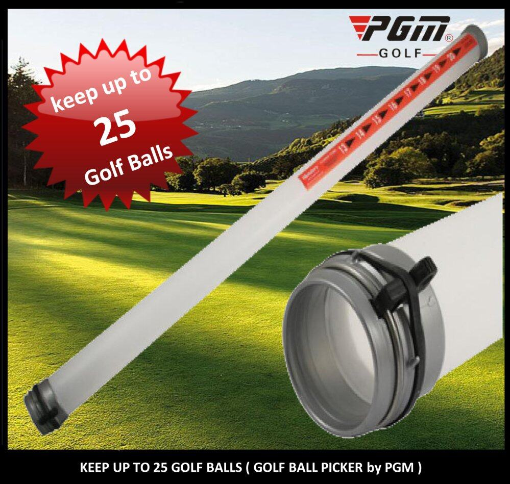 Golf Tubes Ball Retriever by PGM (Hold up to 25 Balls)