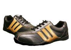 ซื้อ Pgm รองเท้ากอล์ฟผู้ชาย Pgm สีดำทอง ออนไลน์ ถูก