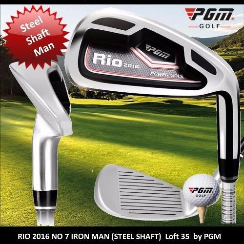 Iron Club Rio No 7 Steel or Graphite Shaft (MAN) by PGM