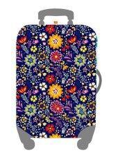 ราคา Mori ผ้าคลุมกระเป๋าเดินทาง ผ้ายืด Luggage Cover Suitcase Cover Spandex ลาย Flower Land Size L สำหรับกระเป๋าเดินทางไซส์ 27 30 นิ้ว Unbranded Generic
