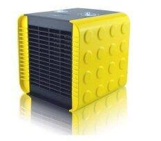 ราคา พัดลมความร้อน เครื่องทำความร้อน ปรับความร้อนได้ 2 ระดับ 750 1500 วัตต์ สีเหลือง ใหม่