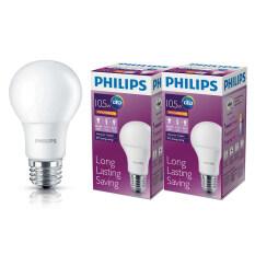 ซื้อ Philips หลอด Led Bulb 10 5 วัตต์ ขั้ว E27 แสงวอร์มไวท์ 2 ดวง กรุงเทพมหานคร
