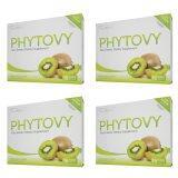 ขาย Phytovy ดีท็อก ไฟโตวี่ เซ็ท 4กล่อง เฉลี่ย784บาท กล่อง ไทย ถูก